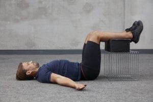Liggende 90, en flott øvelse for å unngå løpeskader