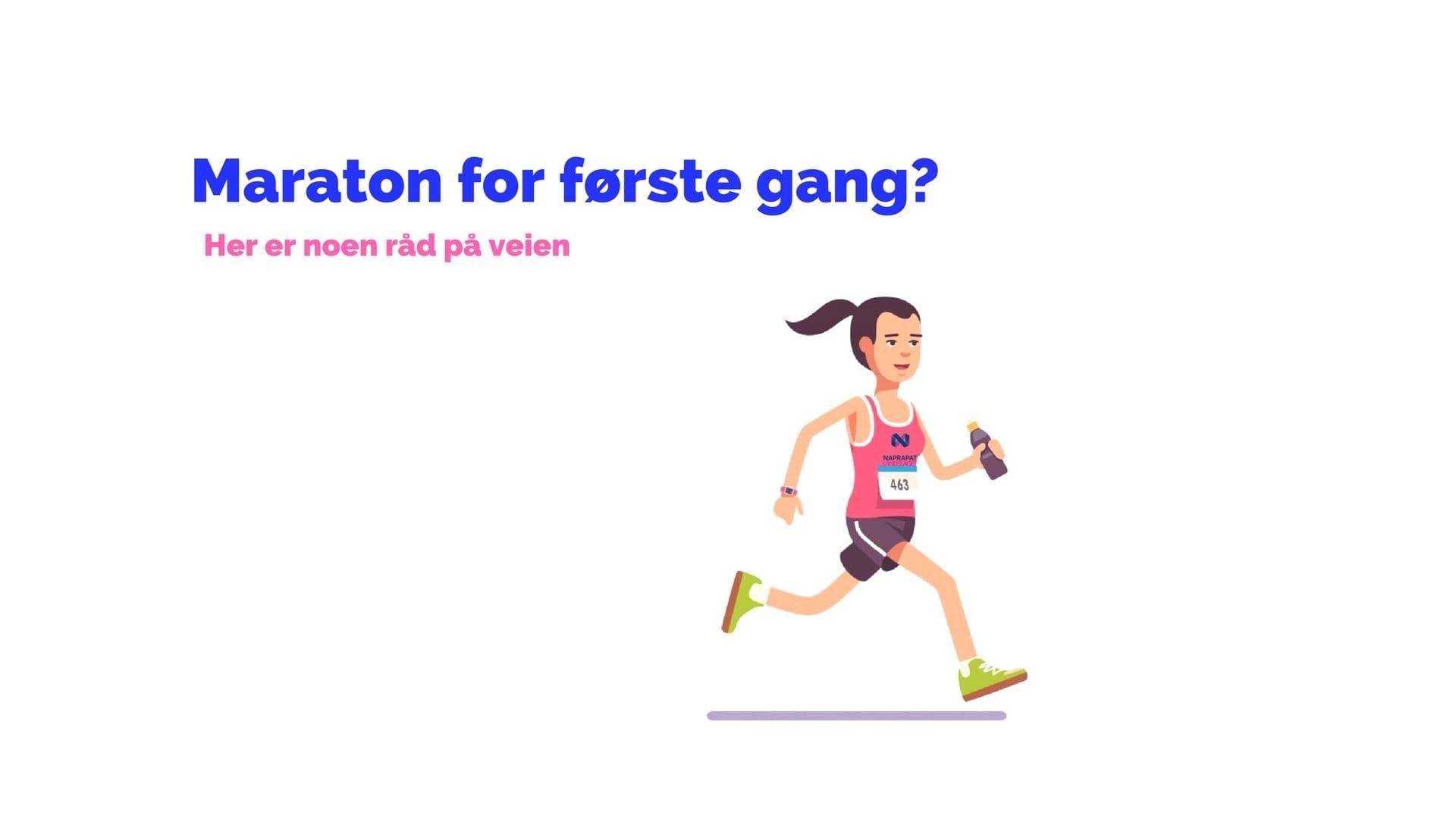Maraton For Første Gang? Her Er Noen Gode Råd.
