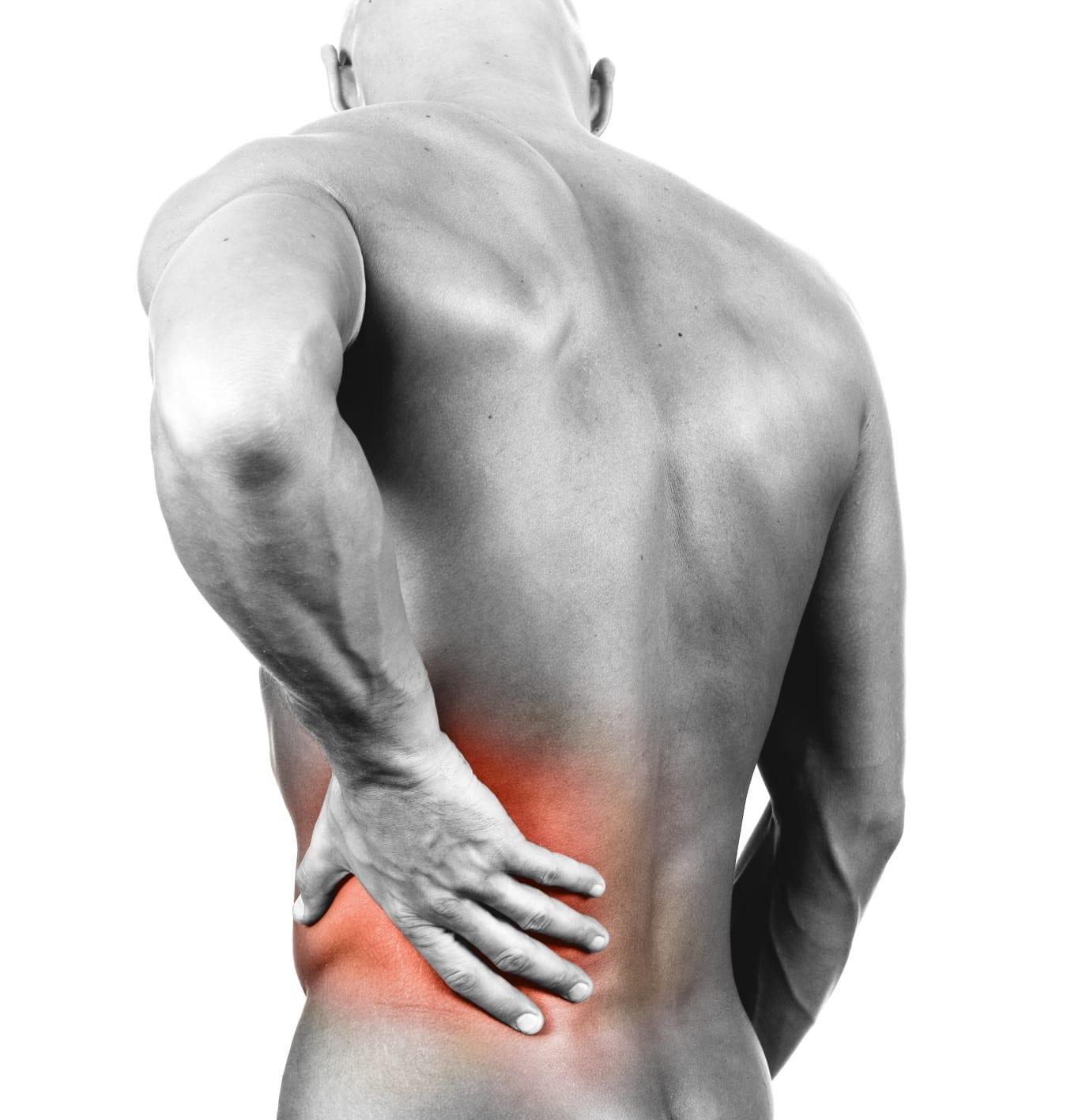 betennelse i muskler i ryggen